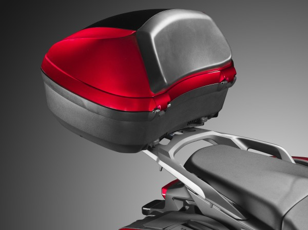 Original Honda VFR800X Top Case 45 L Candy Arcadian Red R305