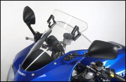 Vario-Touringscheiben-Aufsatz für Suzuki SV650 BJ. 2003-2006/ SV1000 BJ. 2003-2006