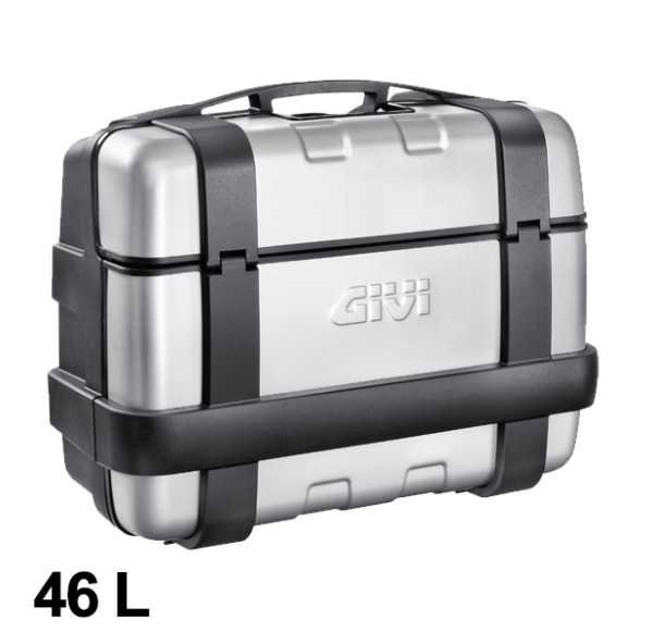 Trekker 46 Liter MONOKEY Case with Aluminum Cover Silver Original Givi