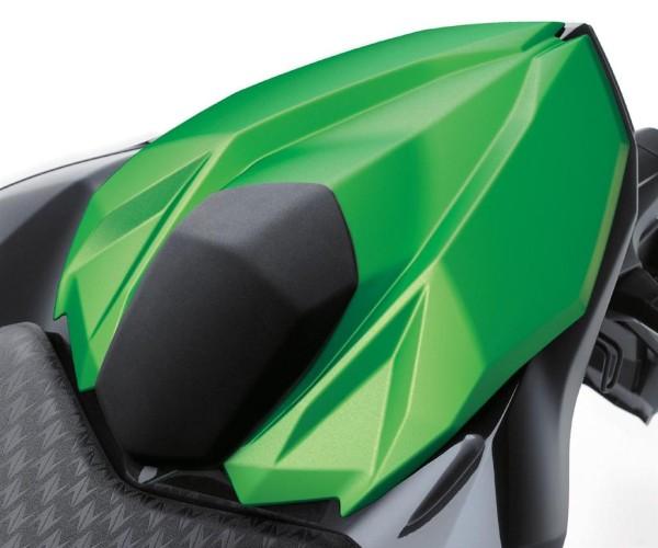Abdeckung Soziussitz Candy Flat Blazed Green Z800 2015 Original Kawasaki