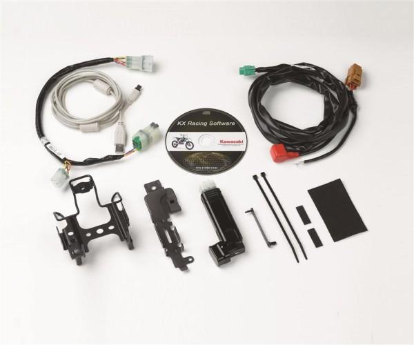 Wire, lead mode select plug. Green (Std. Racetrack) KX450F 2015 Original Kawasaki