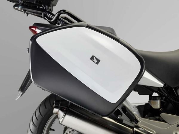 Original Honda CBF 1000 F Kofferverkleidungssatz Pearl Cool White NHA16