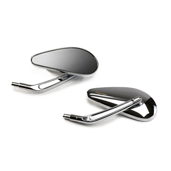 Triumph Chrome Spiegel Kit
