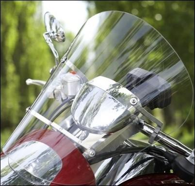 Windschild für Suzuki M1800R2 BJ. 2008-2009