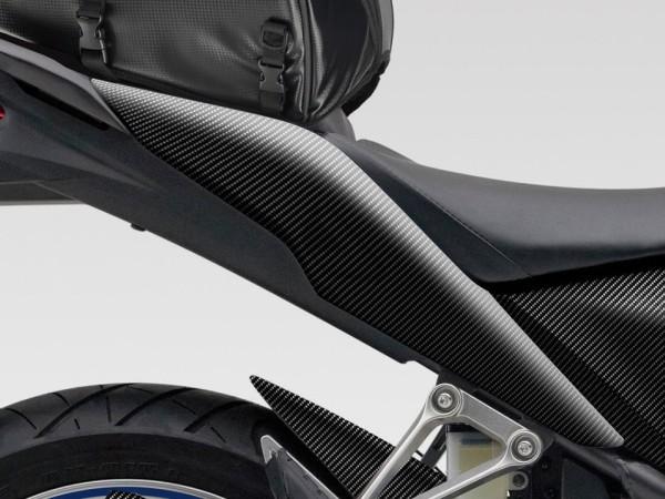 Original Honda CBR125R Heckverkleidungssatz, Carbon-Look