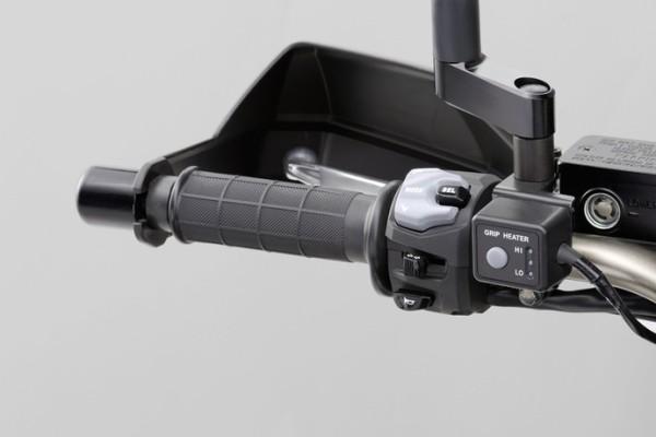 Griffheizung für Suzuki V-Strom 1000 BJ. 2014-2016