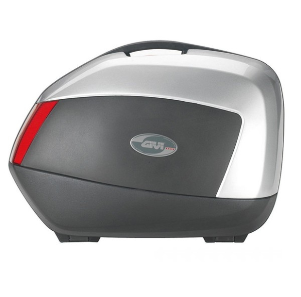 Givi V35 Saddlebag Set Monokey® SIDE - silver matt
