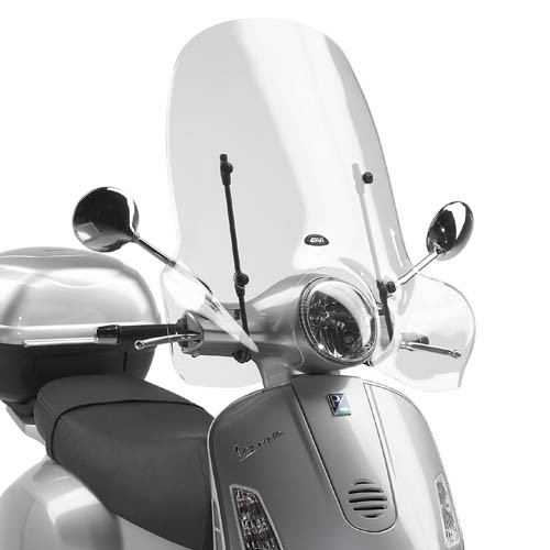 Givi Windshield Vespa LX / GT / GTS / Super - clear