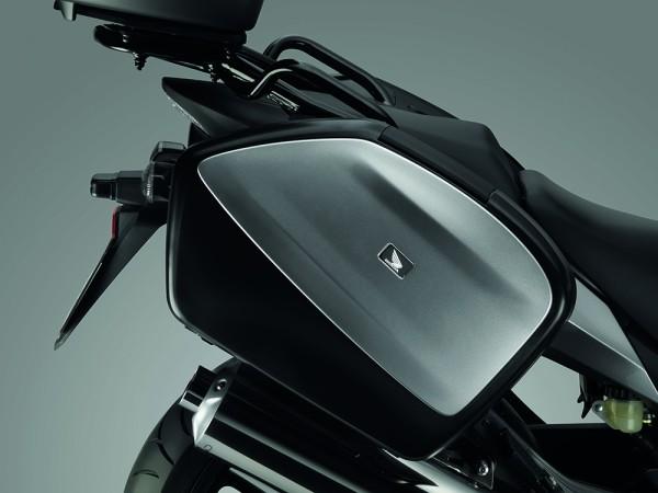 Original Honda CBF 1000 F Kofferverkleidungssatz Sword Silver Metallic NHA95