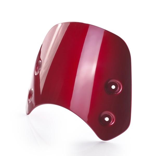 Triumph kurze Windschutzscheibe - rot / Cranberry Red für Street Twin 900 - A9708381
