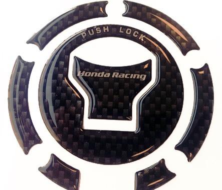 Tankdeckel-Dekor mit HRC Logo Original für alle Honda Modelle