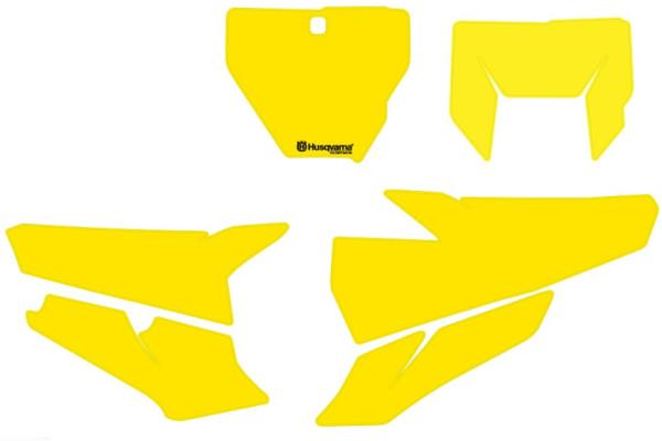 Startnummernfelder für Husqvarna FS 450 Original