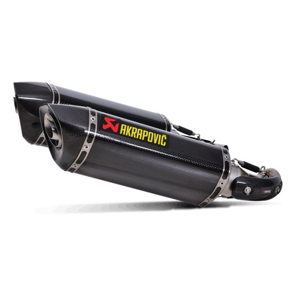 Akrapovic Rear Silencer Carbon Slip-On Line Ducati 696/795/796/1100 Monster Bj 08-14
