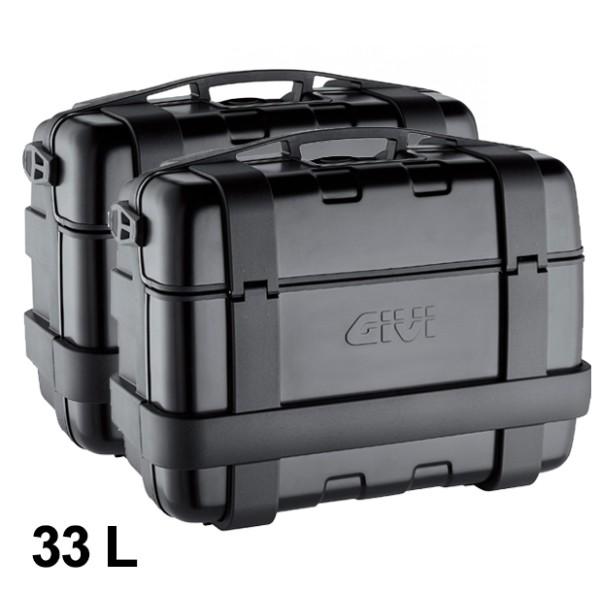 Givi Suitcase Set Trekker 33L black Monokey