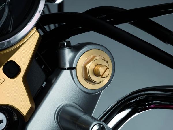 Original Honda CB1100/ CB1100 EX Gabel Verschlussschraubensatz gold