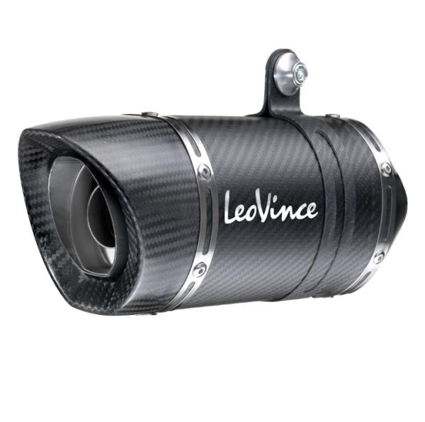LeoVince Auspuffanlage LV Pro, Carbon, Slip On für Kawasaki Z 900 / A2