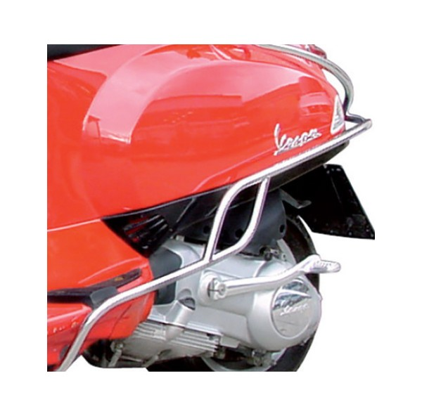 Crash bar rear chrome Vespa S