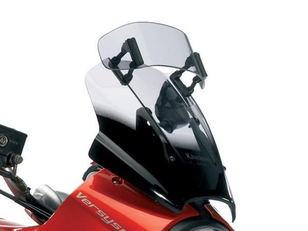 Vario Windscreen smoke gray Versys650 2009 Original Kawasaki