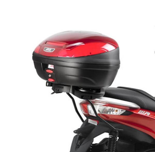 Givi Topcase-Träger M6M für Monolock Koffer / Piaggio MP3 125-300 Yourban - Bj. 11