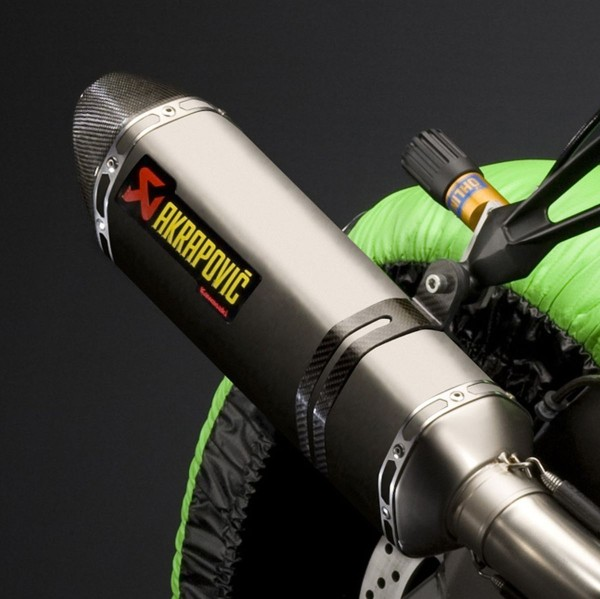 Akrapovic Racing exhaust pipe Ninja ZX-10R 2010 Original Kawasaki