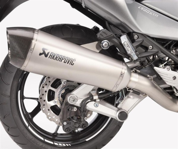 Akrapovic Silencer (Titanium) 1400GTR 2014/2016 Original Kawasaki