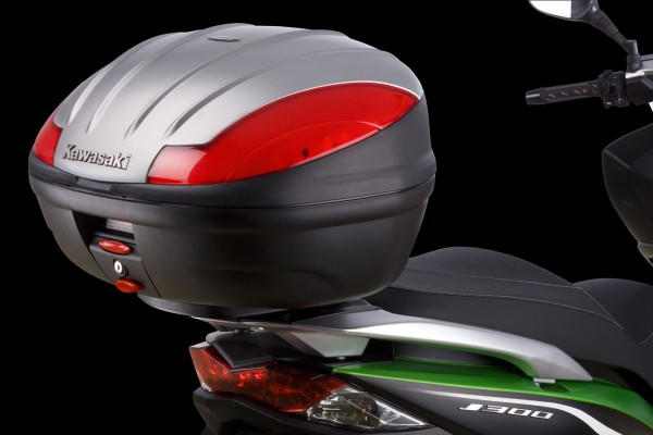 "Abdeckung in ""Metallic Satin Silver (Flat)"" J300 2014 Original Kawasaki"