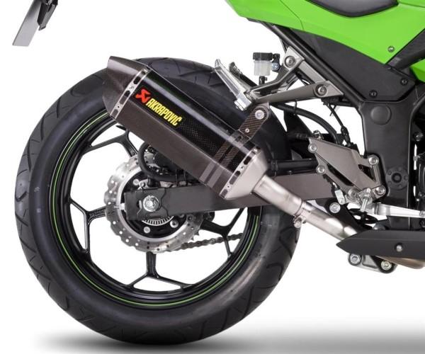 Akrapovic rear silencer Carbon Ninja300 2015 / Z300 2016 Original Kawasaki