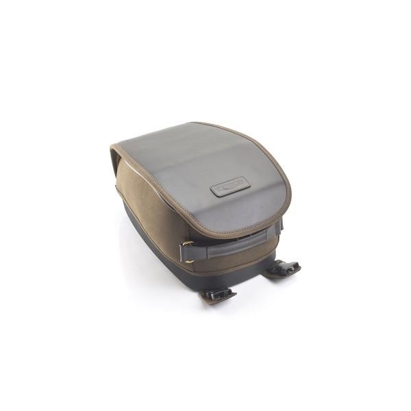 Triumph Tankrucksack Waxed Cotton für Street Twin 900, Bonneville T120, A9518089 - Olivegrün