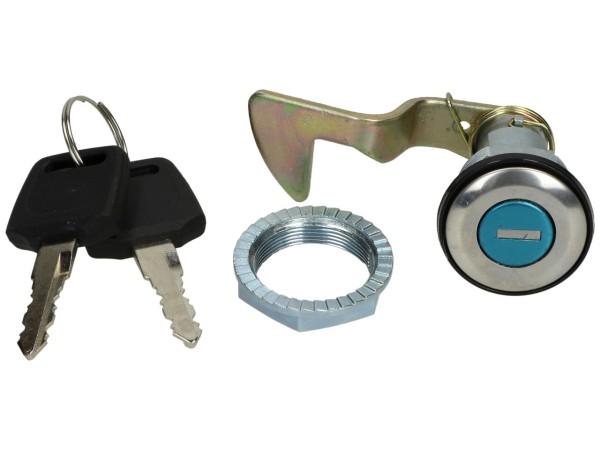 Replacement lock for original Piaggio and Vespa topcases