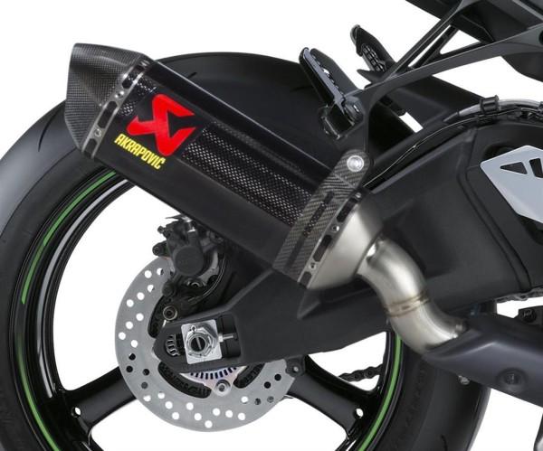Akrapovic-Auspuff Carbon SBK Replica Ninja ZX-10R 2017 Original Kawasaki