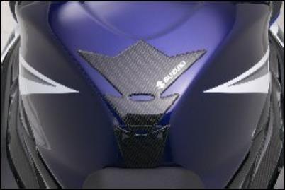 Tankpad, Carbon Optik für Suzuki SV650 BJ. 2003-2006/ SV650 BJ. 2007/ GSF650 BJ. 2005-2006/ Bandit G