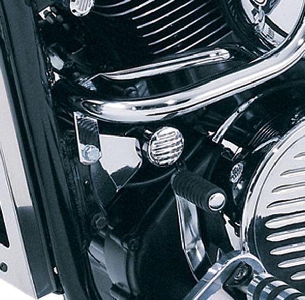 Zierblende Motorhalter VN1500 Classic Tourer Fi 2004/ VN1600 Classic 2007/ VN1600 Mean Streak 2007/