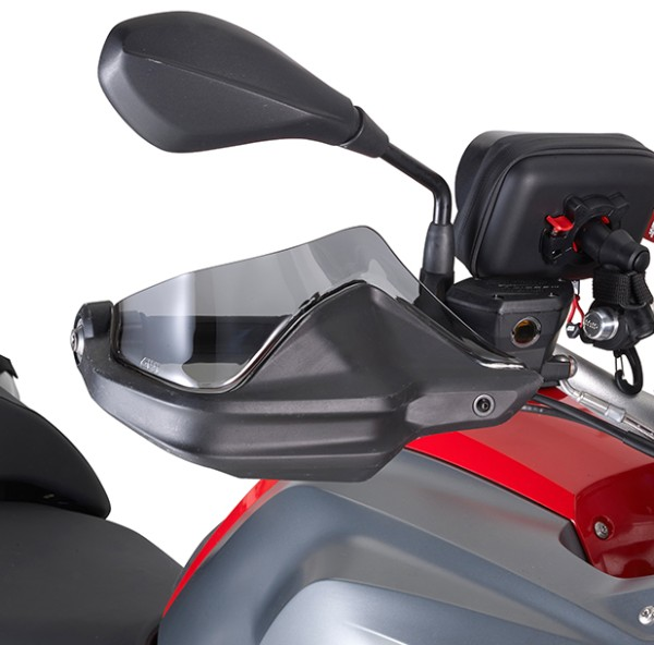 Wind deflector tinted for BMW hand protector GS Original Givi