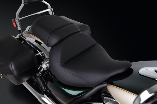 Beifahrer-Gelsitz glatt VN1700 Classic 2014 Original Kawasaki