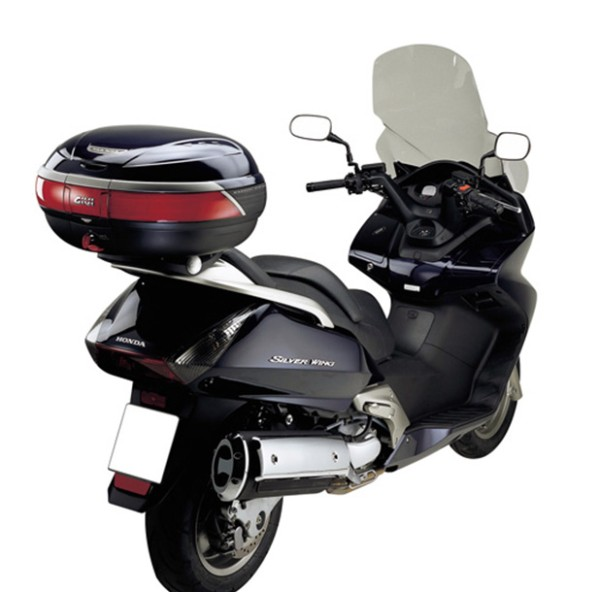 Givi top case carrier for Monokey case Silver Wing 400-600 (year 01-09), SW-T 400 (from year 09)