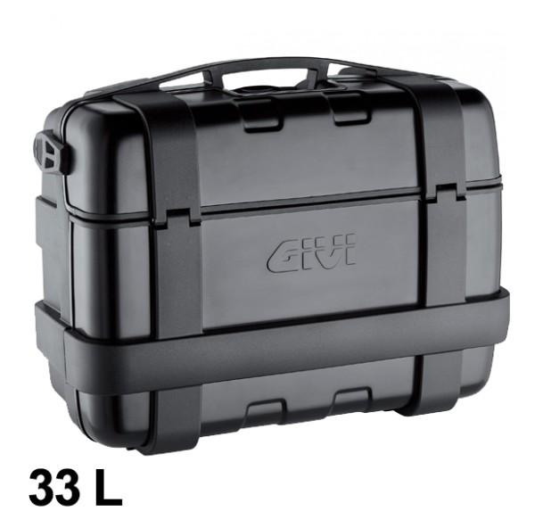 Trekker 33 Liter MONOKEY Case with Aluminum Cover black Original Givi