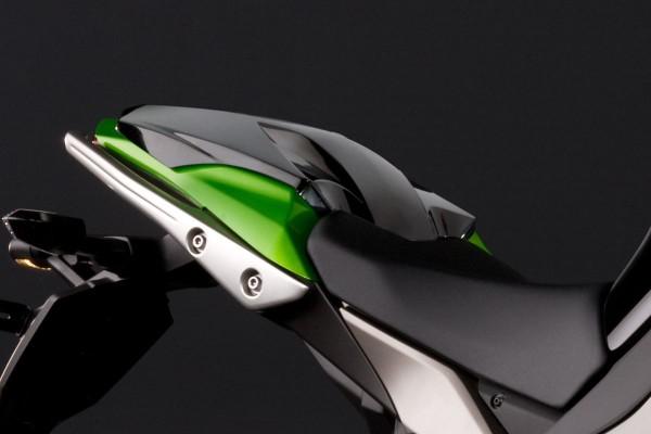 Soziussitz-Abdeckung Metallic Spark Black Z1000SX 2013 Original Kawasaki