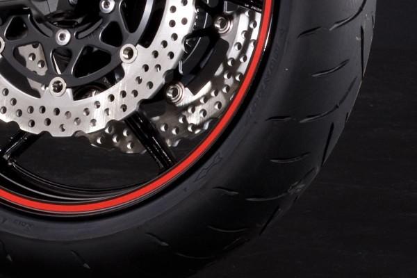 """Rim Rings Red (17 """") Versys650 2014 Original Kawasaki"""