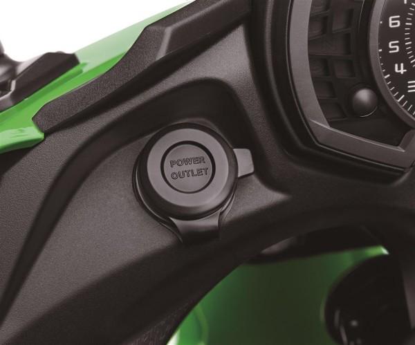 Steckdose (12V) Ninja650 2017/ Versys650 2017/ Versys1000 2017/ Z1000SX 2017 Original Kawasaki