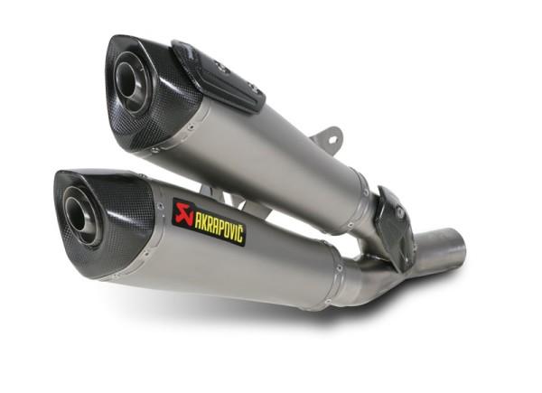 Akrapovic Endschalldämpfer Titan Slip-On Linie Ducati 1198 Diavel Bj 11-14
