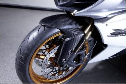 Vorderradabdeckung, Carbon für Suzuki GSX-R1000 BJ. 2009-2011