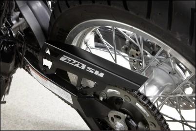 Kettenschutz, Aluminium für Suzuki DR125SM BJ. 2008-2012