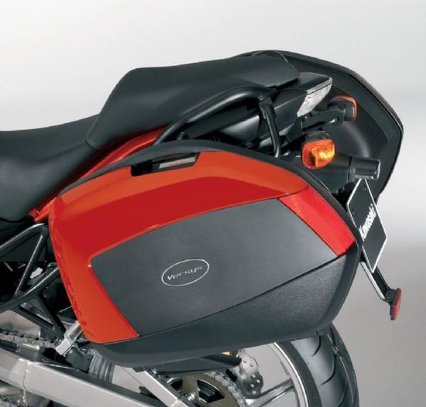 Abdeckungen für Motorradkoffer Pearl Wildfire Orange Versys650 2009 Original Kawasaki