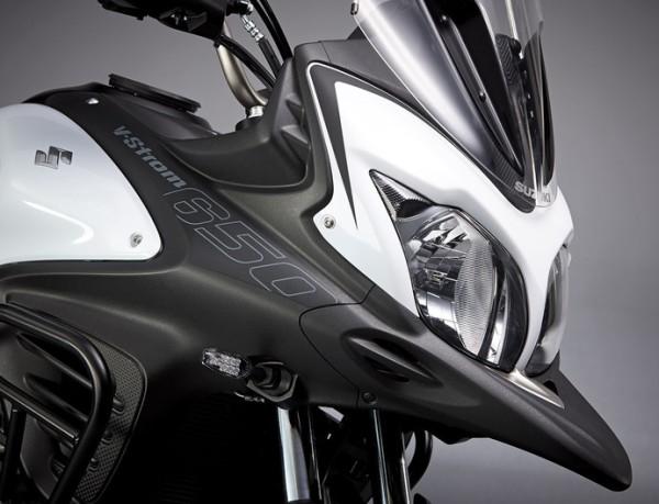 Dekor-Kit V-Strom650 (schwarz) für Suzuki V-Strom 650 BJ. 2012-2016