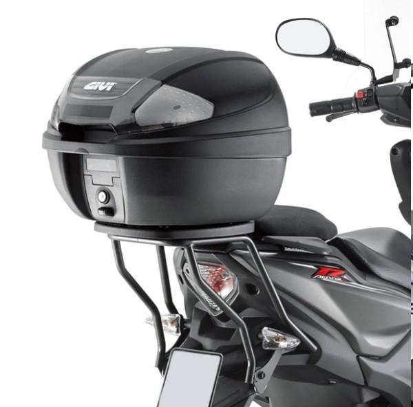 Givi Topcase Carrier black Monolock for Yamaha Aerox 50 R / Naked - Bj. 13-