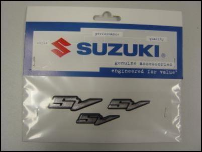 Aufklebersatz SV für Suzuki SV650 BJ. 2003-2006/ SV650 BJ. 2007/ SV1000 BJ. 2003-2006