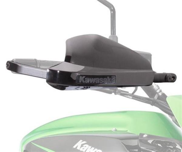 Hanprotector set black (with Kawasaki logo) Versys650 2017 / Versys1000 2017 Original Kawasaki