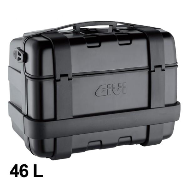 Trekker 46 Liter MONOKEY Case with Aluminum Cover black Original Givi