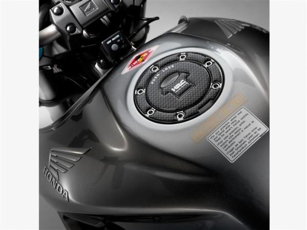 Original Honda CB 1000 R / CBF 1000 F / CBR 300 R / CBR125R Tank Cap Decor with HRC logo