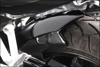 Hinterradabdeckung, metallic grau für Suzuki SV650 BJ. 2007